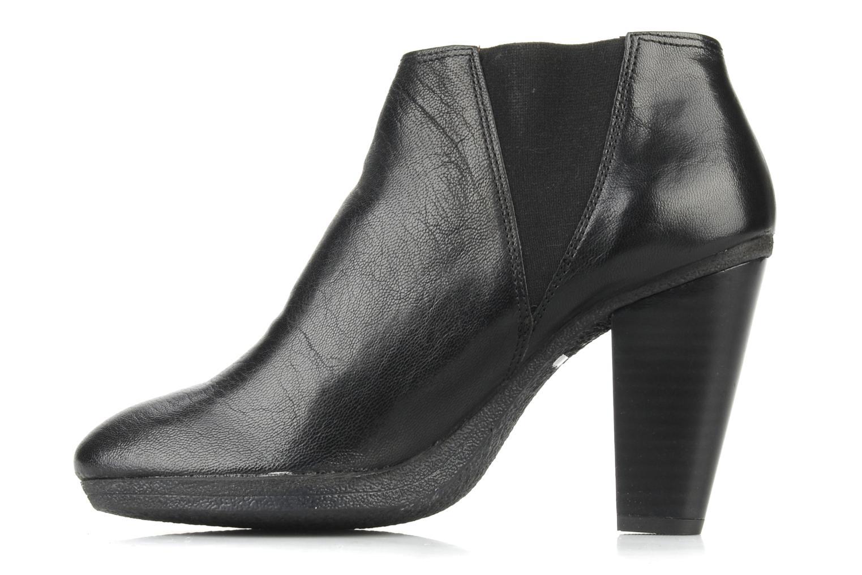 Bottines et boots Carvela Arthur Noir vue face