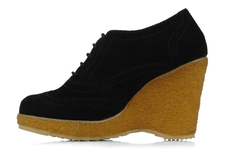 Chaussures à lacets Carvela Albert Noir vue face