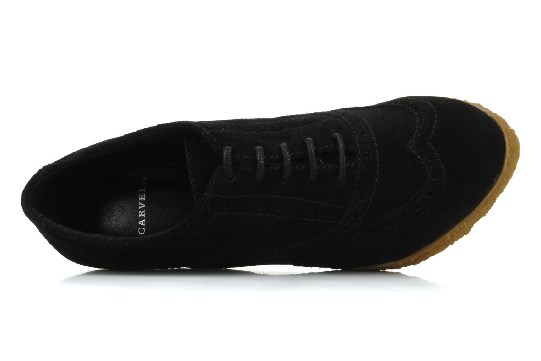 Chaussures à lacets Carvela Albert Noir vue gauche