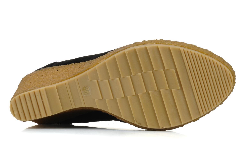 Chaussures à lacets Carvela Albert Noir vue haut