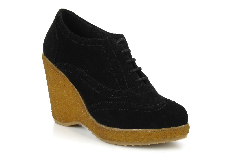 Chaussures à lacets Carvela Albert Noir vue détail/paire
