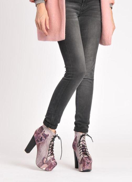 Bottines et boots Jeffrey Campbell Lita Rose vue bas / vue portée sac