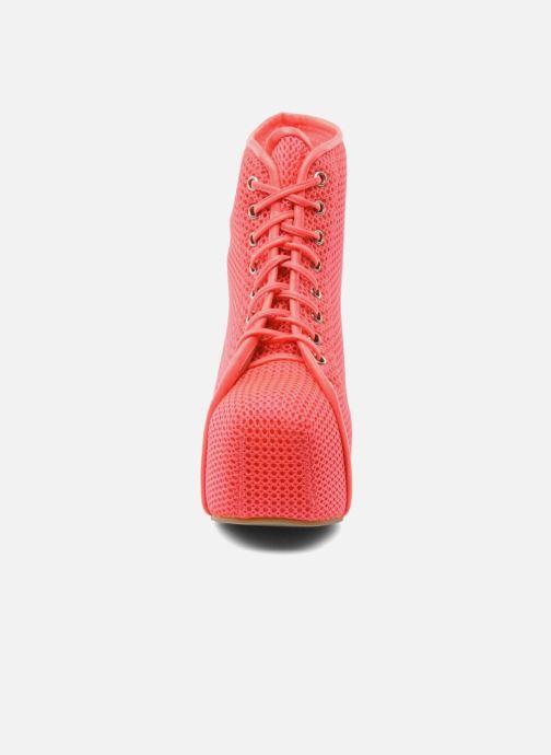 Bottines et boots Jeffrey Campbell Lita Rose vue portées chaussures