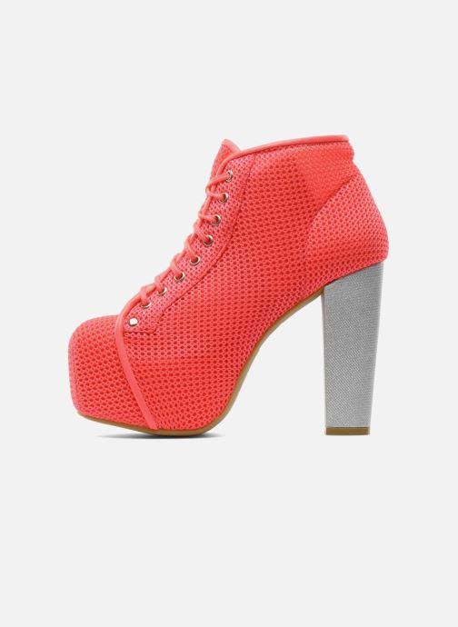 Boots en enkellaarsjes Jeffrey Campbell Lita Roze voorkant