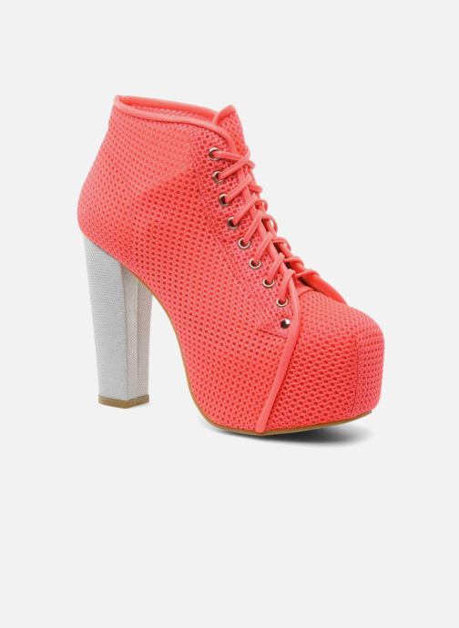 Boots en enkellaarsjes Jeffrey Campbell Lita Roze detail