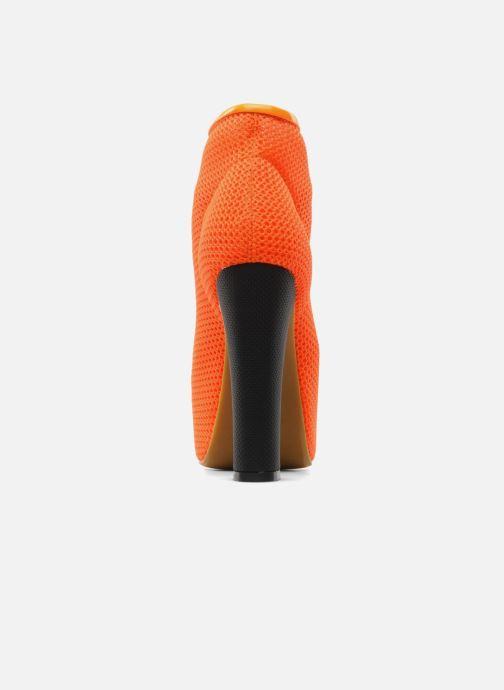 Bottines et boots Jeffrey Campbell Lita Orange vue droite
