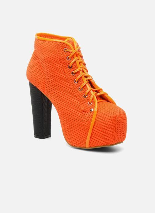 Bottines et boots Jeffrey Campbell Lita Orange vue détail/paire