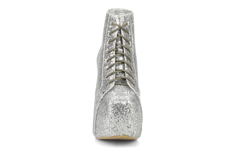 Boots en enkellaarsjes Jeffrey Campbell Lita Zilver model