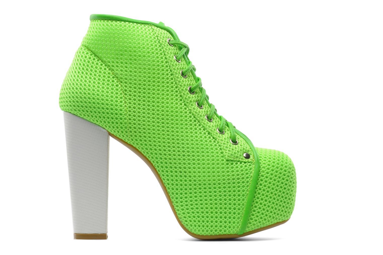 Stiefeletten & Boots Jeffrey Campbell Lita grün ansicht von hinten
