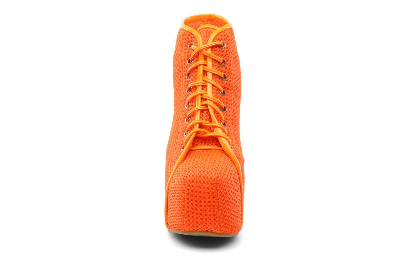 Ankelstøvler Jeffrey Campbell Lita Orange se skoene på