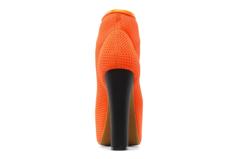 Ankelstøvler Jeffrey Campbell Lita Orange Se fra højre