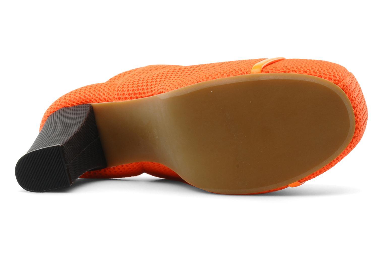 Ankelstøvler Jeffrey Campbell Lita Orange se foroven