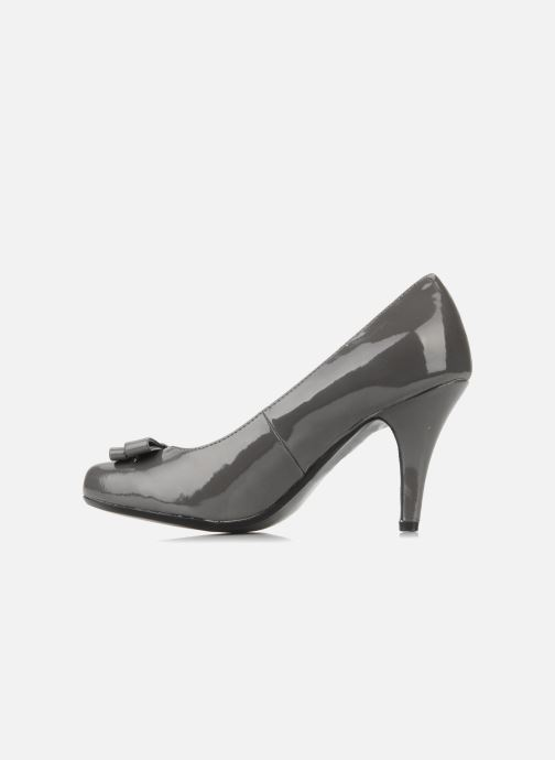 High heels I Love Shoes Woolver Grey front view