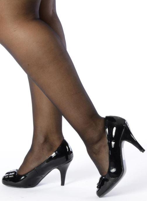 Escarpins I Love Shoes Woolver Noir vue bas / vue portée sac