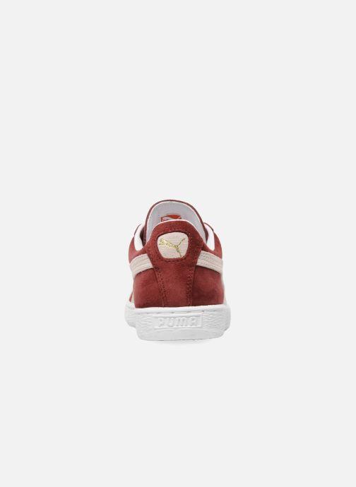 Sneaker Puma Suede Classic + weinrot ansicht von rechts