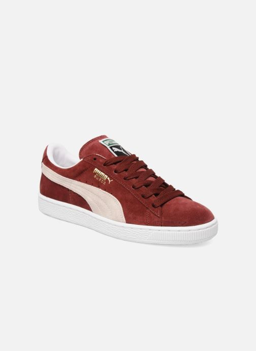 Sneaker Puma Suede Classic + weinrot detaillierte ansicht/modell
