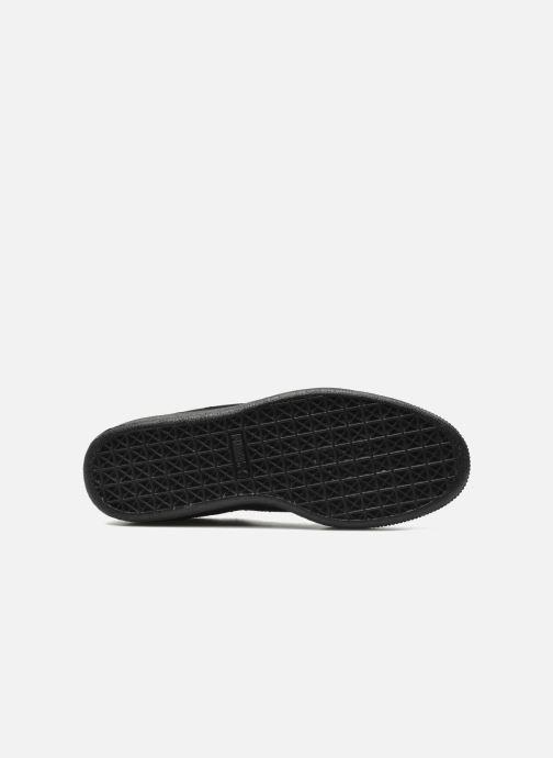Sneaker Puma Suede Classic + schwarz ansicht von oben