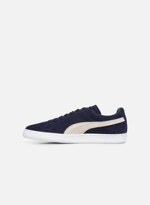 Sneaker Puma Suede Classic + blau ansicht von vorne