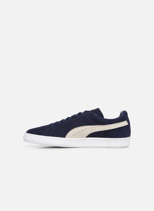 Trainers Puma Suede Classic + Blue front view