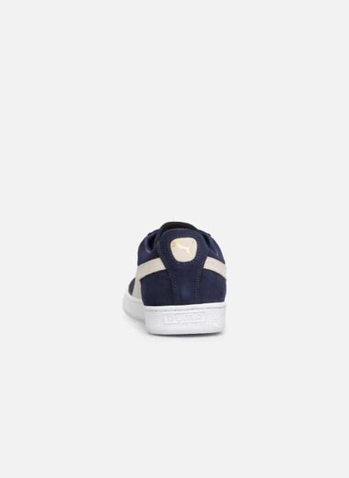 Sneakers Puma Suede Classic + Blauw rechts