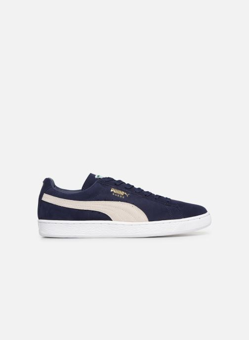 Sneakers Puma Suede Classic + Blauw achterkant