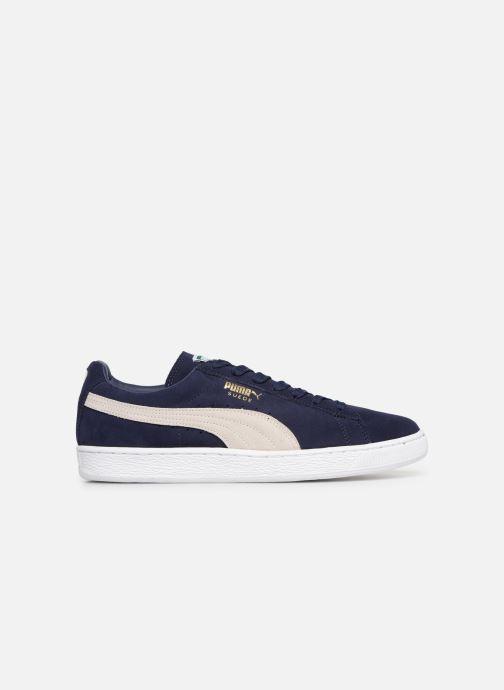 Sneaker Puma Suede Classic + blau ansicht von hinten