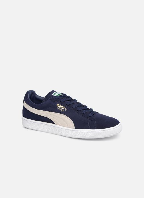 Trainers Puma Suede Classic + Blue detailed view/ Pair view