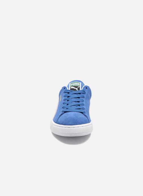 Sneaker Puma Suede Classic + blau schuhe getragen