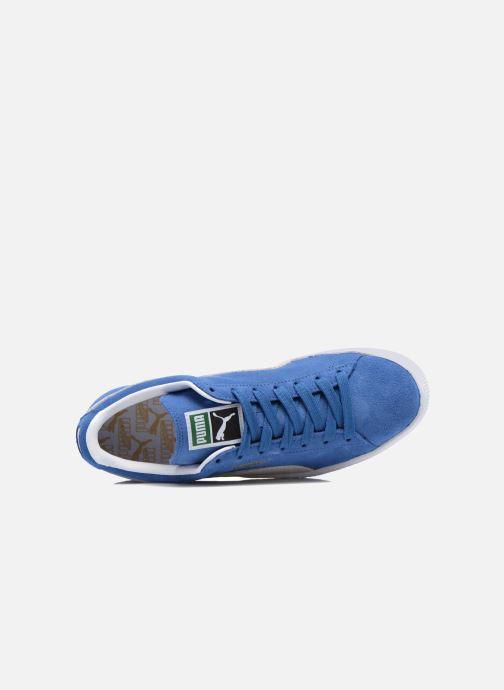 Sneaker Puma Suede Classic + blau ansicht von links