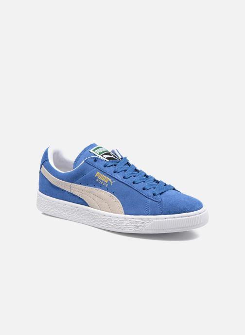 Baskets Puma Suede Classic + Bleu vue détail/paire
