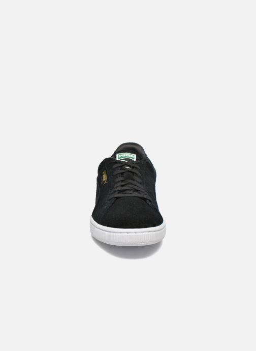 Baskets Puma Suede Classic + Noir vue portées chaussures
