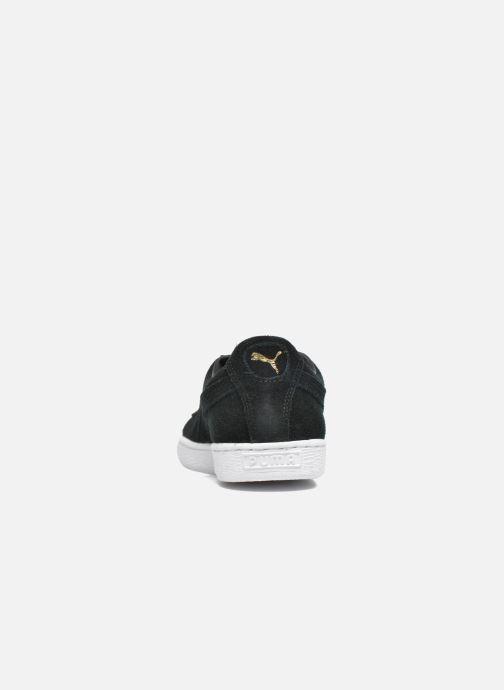 Sneaker Puma Suede Classic + schwarz ansicht von rechts
