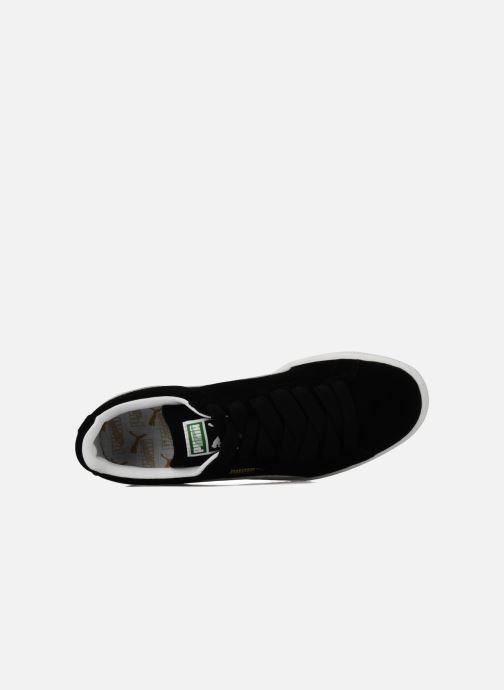 Sneaker Puma Suede Classic + schwarz ansicht von links