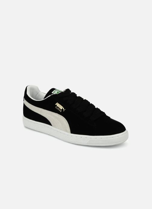Trainers Puma Suede Classic + Black detailed view/ Pair view