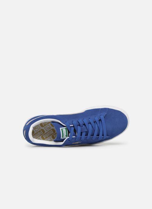 Baskets Puma Suede Classic + Bleu vue gauche
