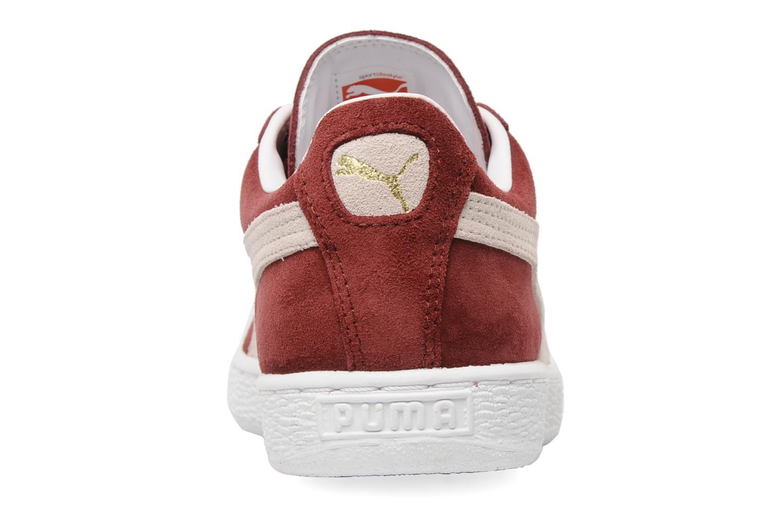 Sneakers Puma Suede Classic + Bordeaux rechts
