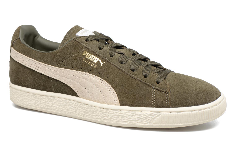 c8b36b653b2a Puma Suede Classic + (Green) - Trainers chez Sarenza (303693)