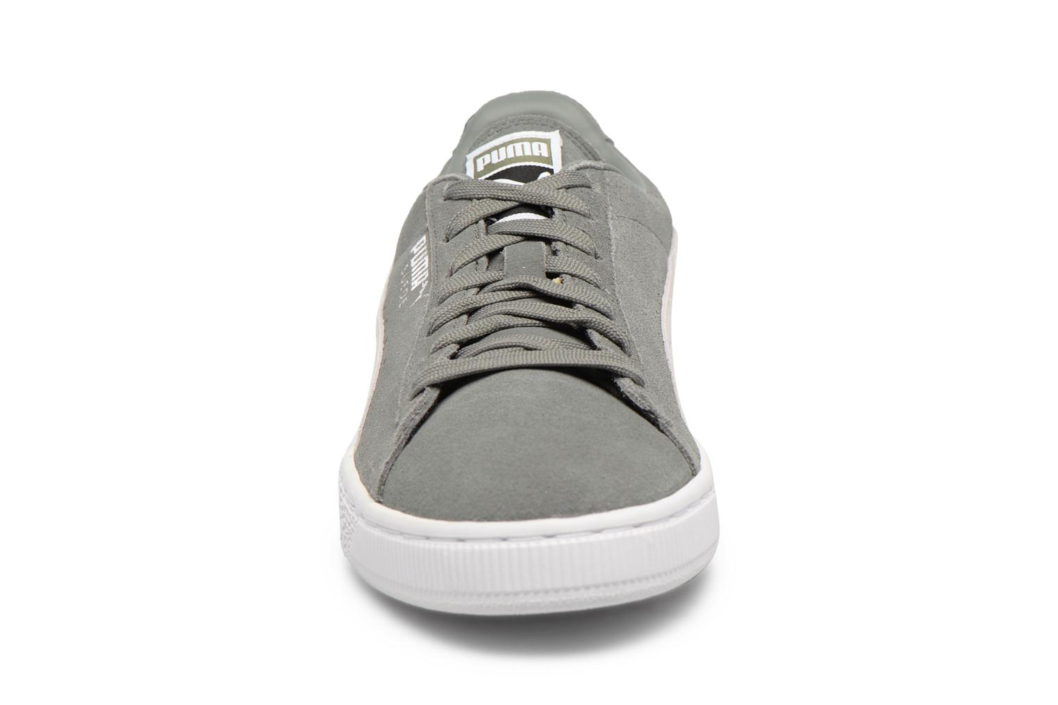 Trainers Puma Suede Classic + Grey model view