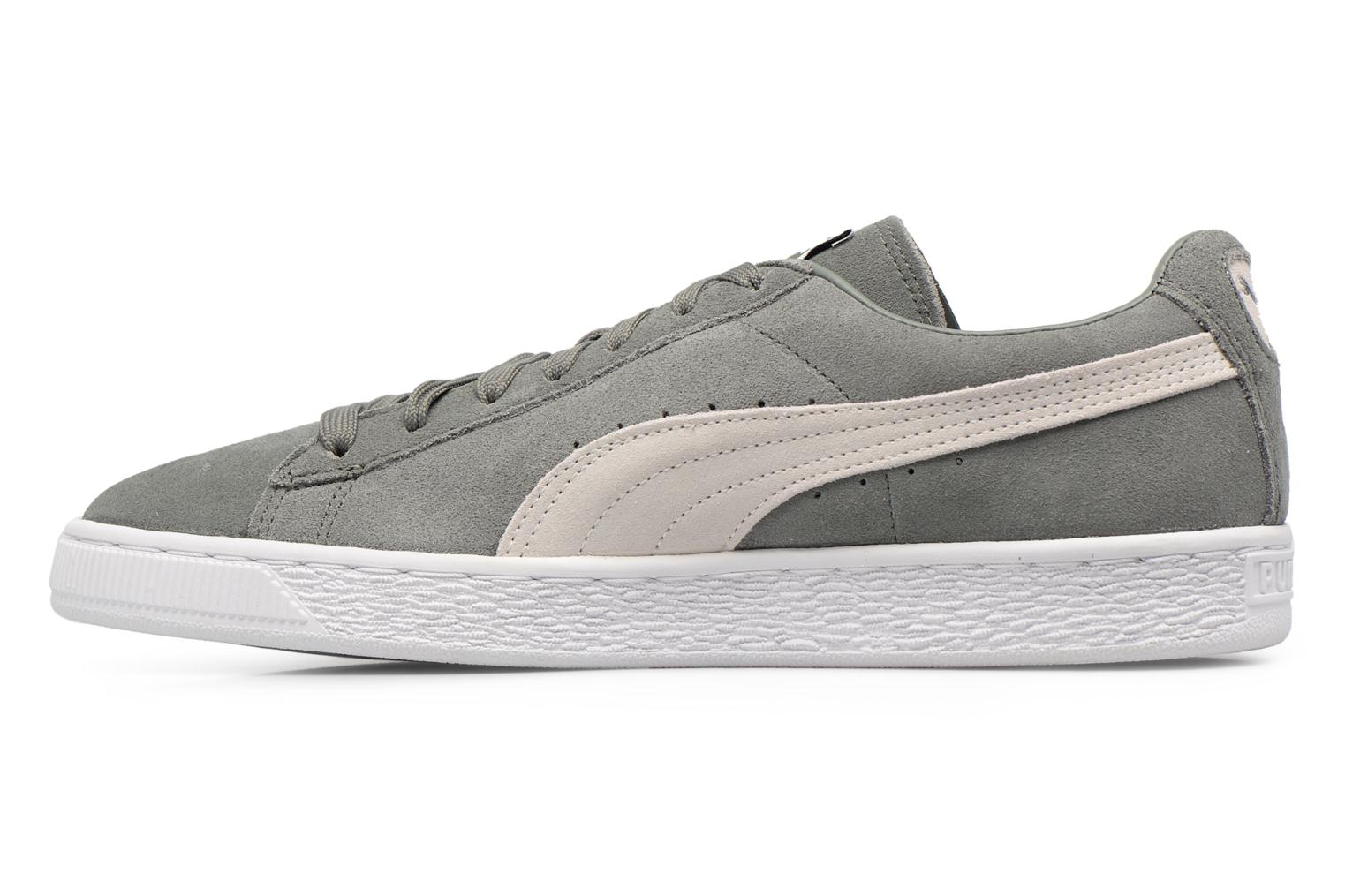 Trainers Puma Suede Classic + Grey front view