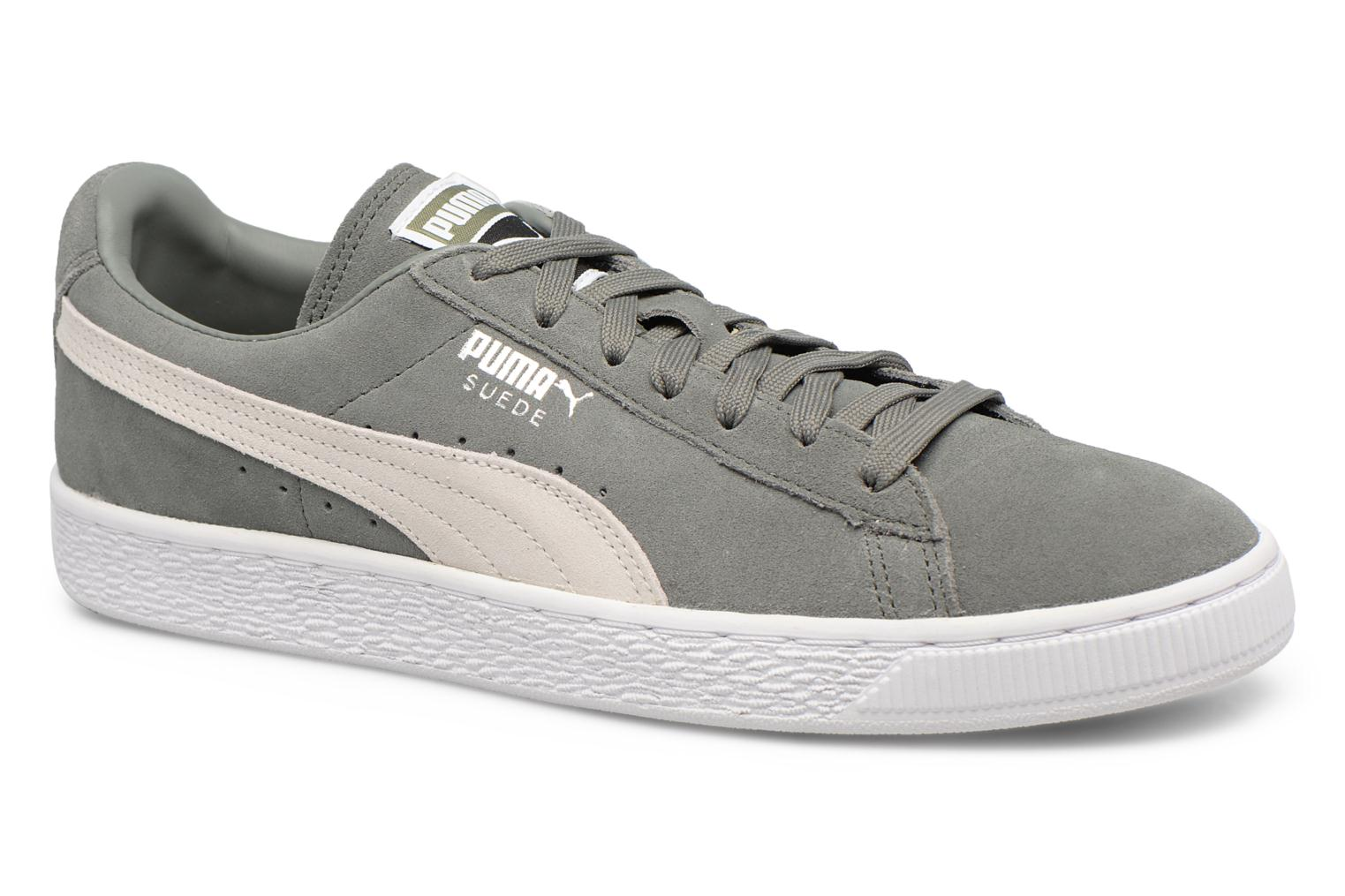 Sneakers Puma Suede Classic + Grijs detail