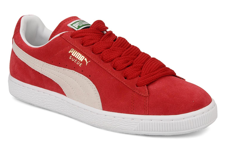 Puma Suede Classic + (Rouge) - Baskets en Más cómodo Super rabais