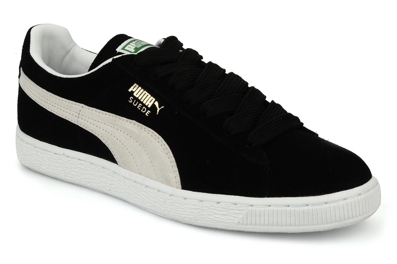 Baskets Puma Suede Classic + Noir vue détail/paire