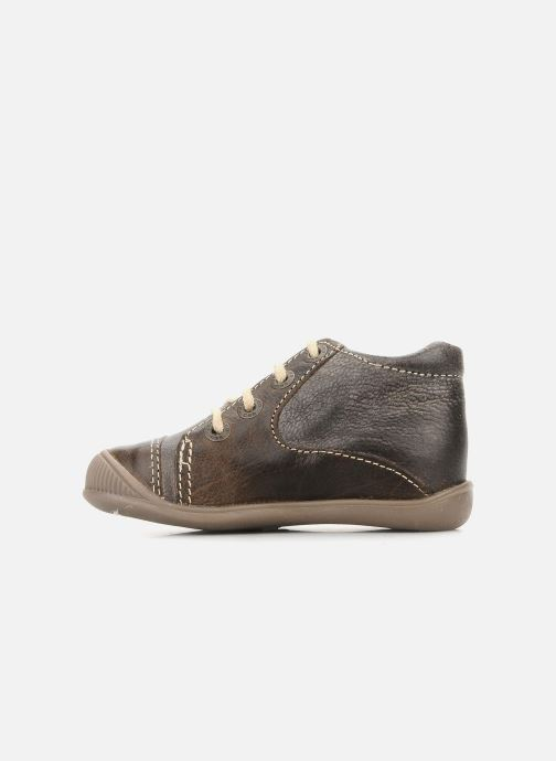 Ankle boots GBB Babyboy 152 Brown front view