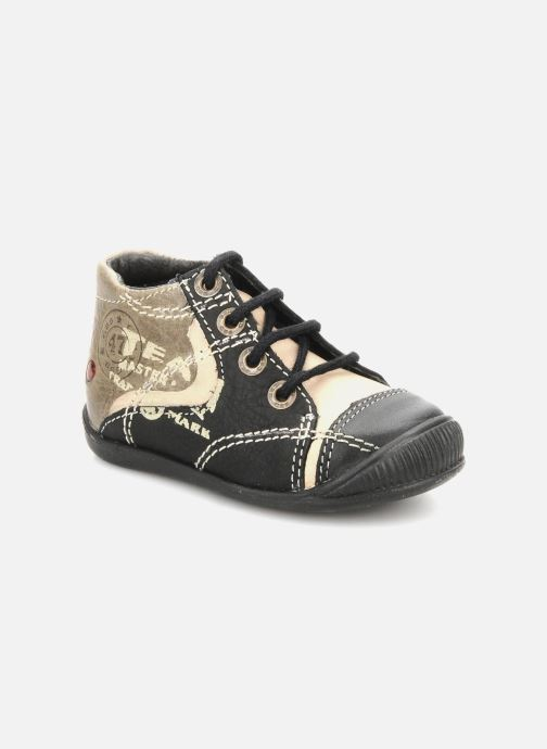 Ankle boots GBB Babyboy 152 Black detailed view/ Pair view