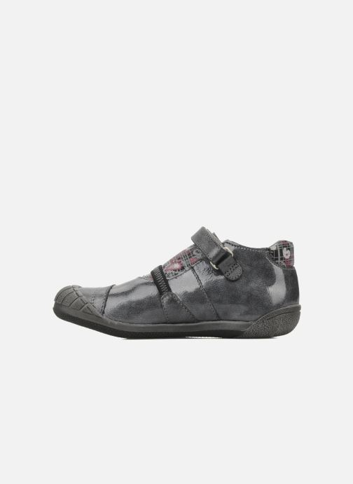 Velcro shoes GBB Kidgirl 201 Grey front view