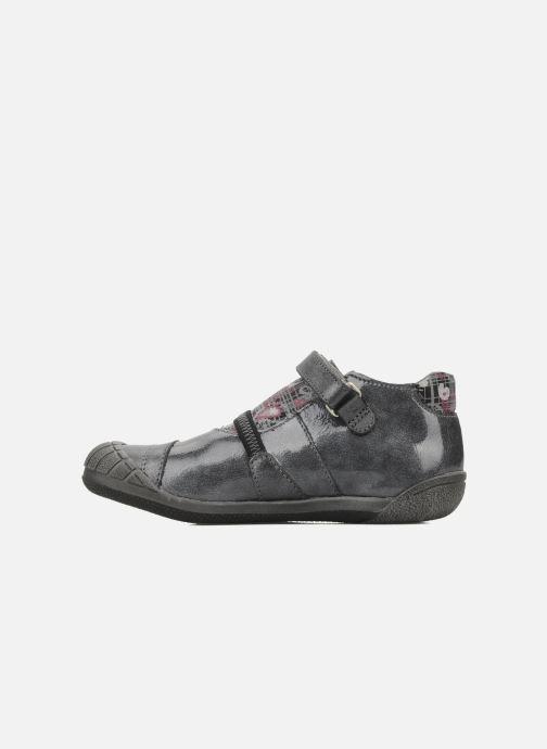 Schoenen met klitteband GBB Kidgirl 201 Grijs voorkant