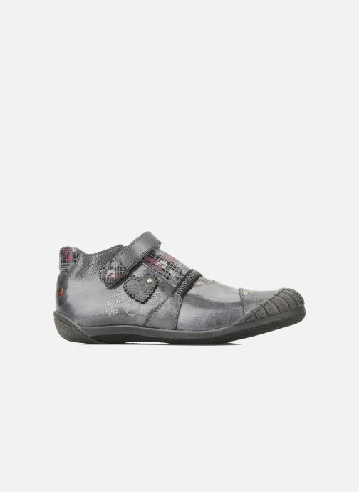 Velcro shoes GBB Kidgirl 201 Grey back view