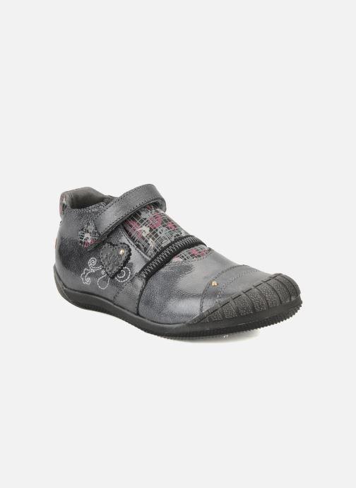 Chaussures à scratch GBB Kidgirl 201 Gris vue détail/paire