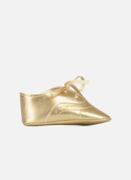 Slippers Rose & Martin Dida Bronze and Gold back view