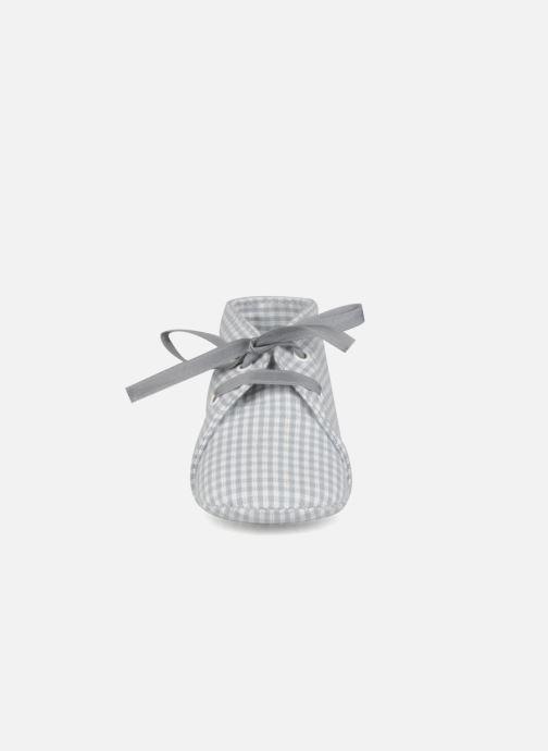 Chaussons Rose & Martin Dandy Gris vue portées chaussures
